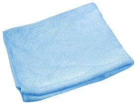 Microfibre cloth 10 pieces blue